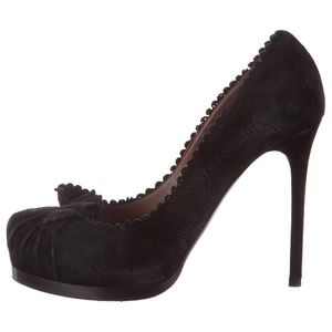 Tabitha Simmons Laser cut Perforated Stiletto Heel